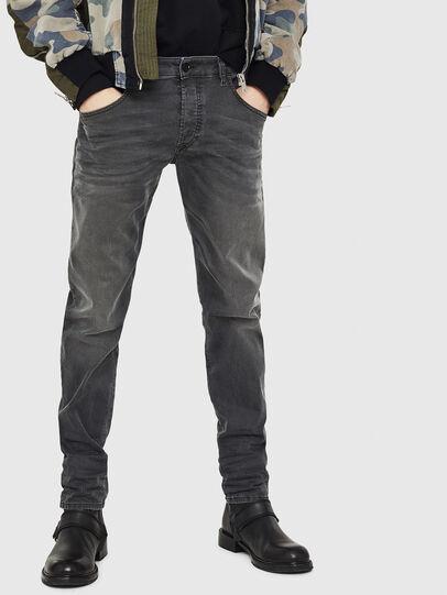 Diesel - D-Bazer 0699P, Noir - Jeans - Image 1