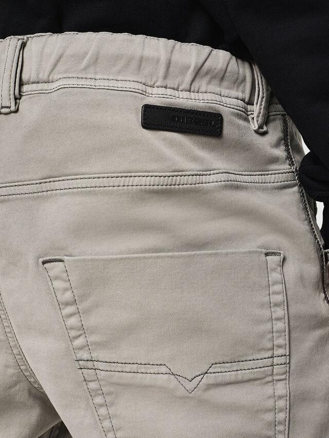 Diesel - Krooley JoggJeans 0670M, Gris Clair - Jeans - Image 4
