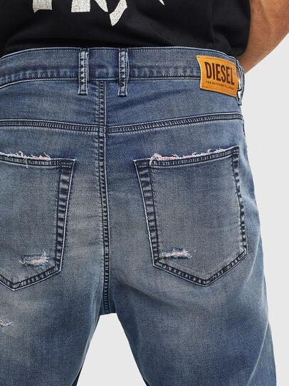 Diesel - D-Vider JoggJeans 069LW, Bleu Foncé - Jeans - Image 6