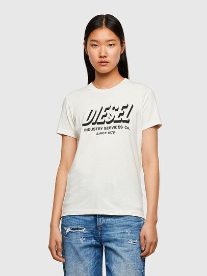 Diesel - T-SILY-R4, Blanc - T-Shirts - Image 1