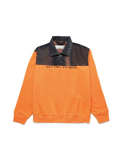 Diesel - D-BNHILL-S, Orange - Pull Cotton - Image 1