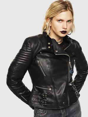 L-IGE, Noir - Vestes de cuir
