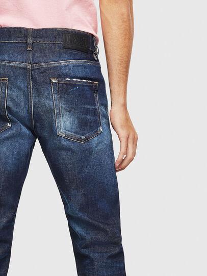 Diesel - D-Strukt 009BH, Bleu Foncé - Jeans - Image 4