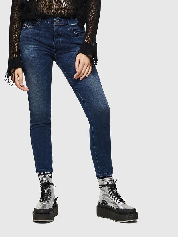 Babhila 083AE, Bleu Foncé - Jeans