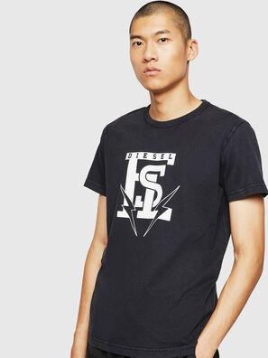 T-DIEGO-B14, Noir - T-Shirts