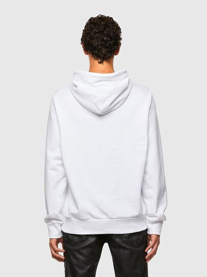 Diesel - S-GIRPO-HOOD, Blanc - Pull Cotton - Image 2