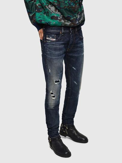 Diesel - Thommer 0890W, Bleu Foncé - Jeans - Image 1