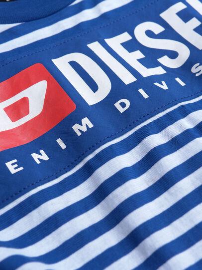 Diesel - TVIKTOR OVER, Bleu/Blanc - T-shirts et Hauts - Image 3