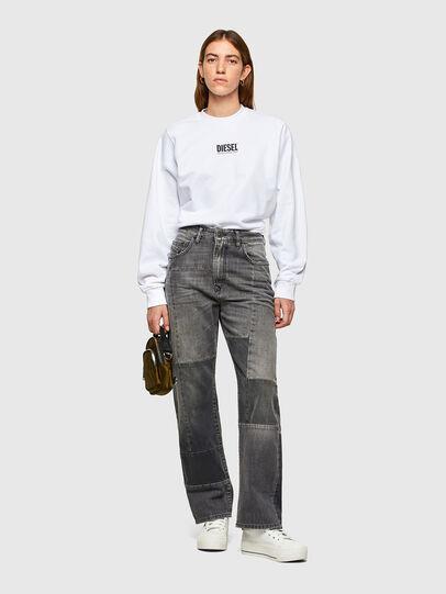 Diesel - F-ANG-SMALLOGO, Blanc - Pull Cotton - Image 4