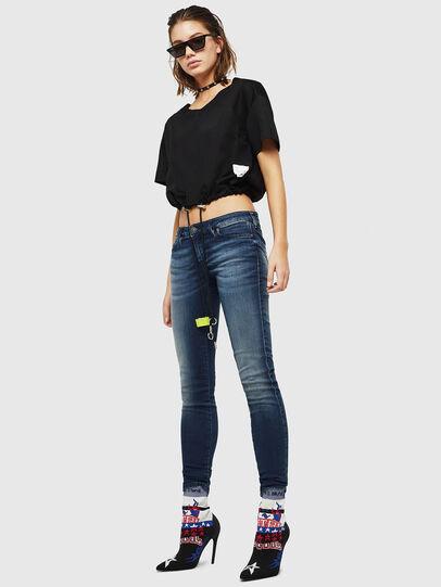Diesel - Gracey JoggJeans 069HF, Bleu Foncé - Jeans - Image 5
