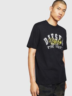 T-JUST-B25, Noir - T-Shirts