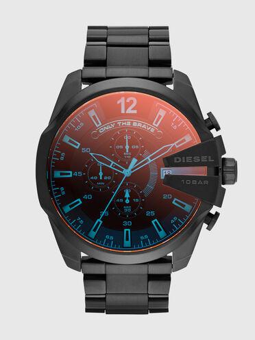 Mega Chief montre avec placage gris