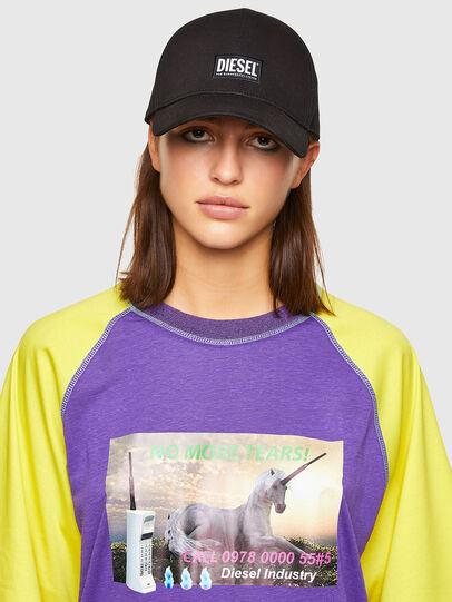 Diesel - T-SPO, Violet/Jaune - T-Shirts - Image 3