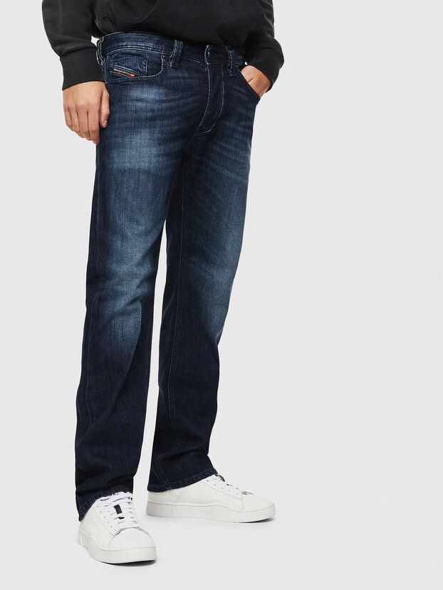 Larkee 0095W, Bleu Foncé - Jeans