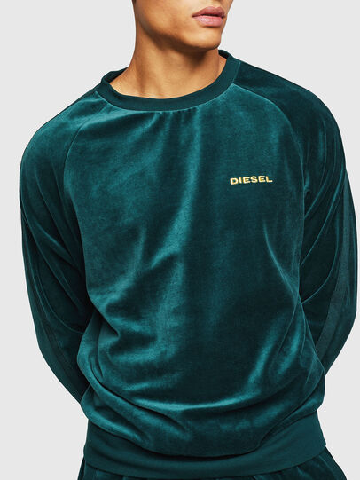 Diesel - UMLT-MAX, Vert Foncé - Pull Cotton - Image 4