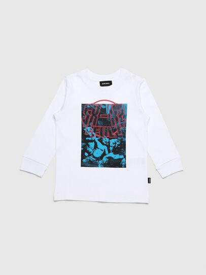 Diesel - TRAVEB-R, Blanc - T-shirts et Hauts - Image 1