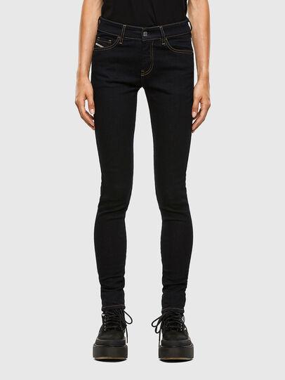 Diesel - Slandy 009CW, Bleu Foncé - Jeans - Image 1