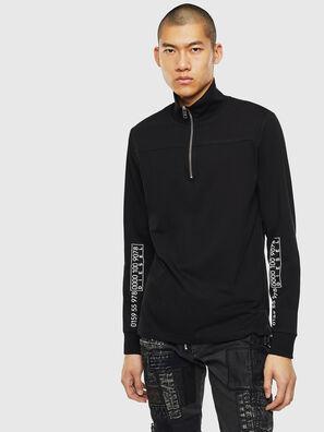 T-DIEGO-LS-DOLCE, Noir - T-Shirts