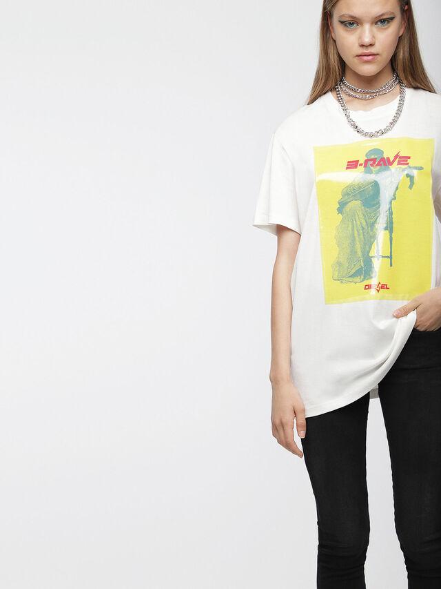 Diesel - T-DARIA-C, Blanc - T-Shirts - Image 1