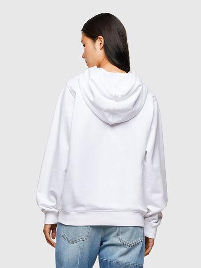 Diesel - F-ANG-HOOD-R20, Blanc - Pull Cotton - Image 2