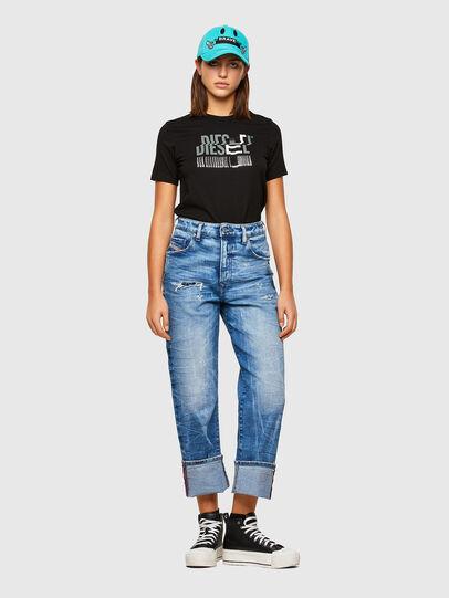 Diesel - T-SILY-K6, Noir/Gris - T-Shirts - Image 4