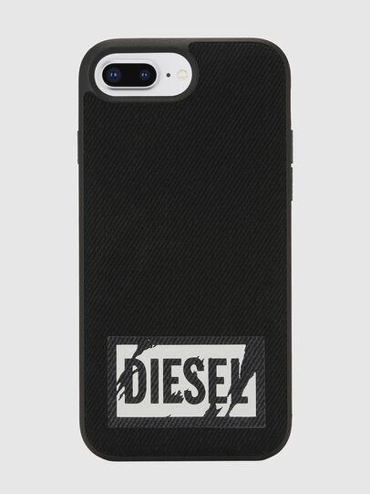 Diesel - BLACK DENIM IPHONE 8 PLUS/7 PLUS/6S PLUS/6 PLUS CASE, Noir - Coques - Image 2