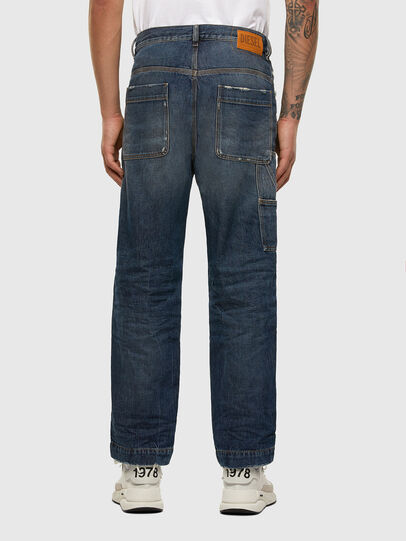 Diesel - D-Franky 009EW, Bleu Foncé - Jeans - Image 2