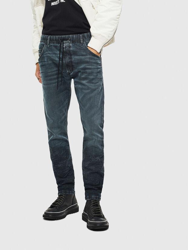 Krooley JoggJeans 069MD, Bleu Foncé - Jeans