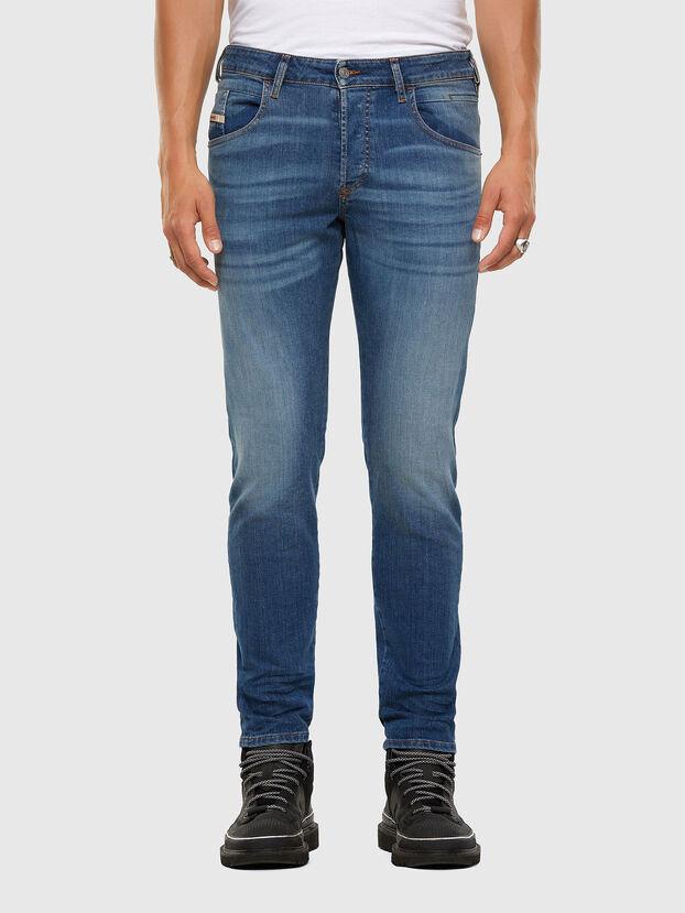 D-Bazer 009DB, Bleu moyen - Jeans