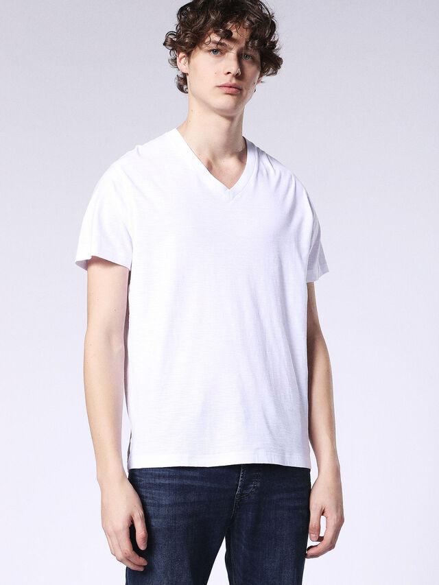 Diesel - T-RENE, Blanc - T-Shirts - Image 1