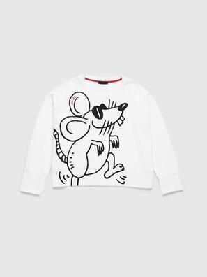 CL-F-MAGDA-BIGM, Blanc - Pull Cotton