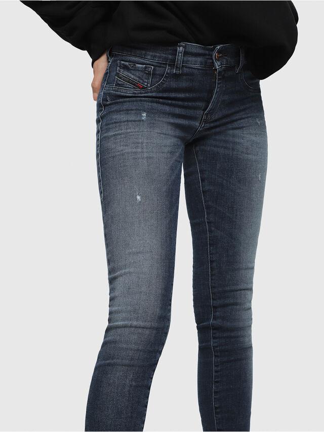 Diesel Livier 0687L, Bleu moyen - Jeans - Image 3