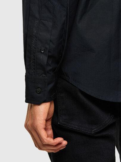 Diesel - S-OLSEN, Noir - Chemises - Image 4