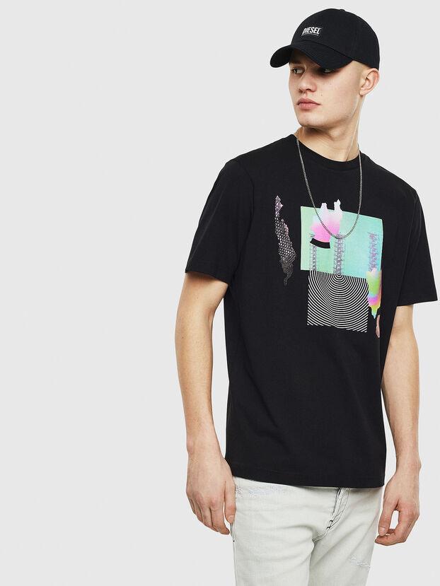 T-JUST-T25, Noir - T-Shirts