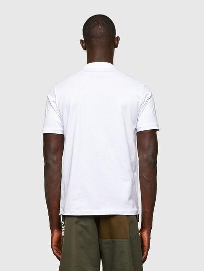Diesel - T-JUSTY, Blanc - T-Shirts - Image 2