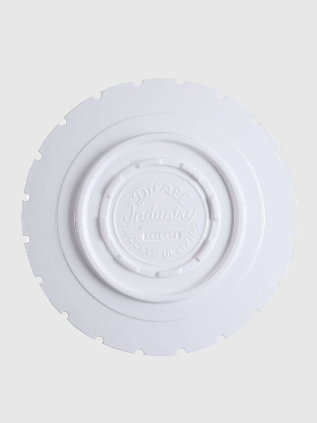 Diesel - 10993 MACHINE COLLEC, Blanc - Assiettes - Image 2