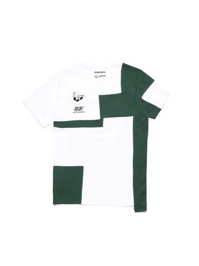 Diesel - D-FRANKENSTEIN 2.1, Blanc/Vert - T-Shirts - Image 2