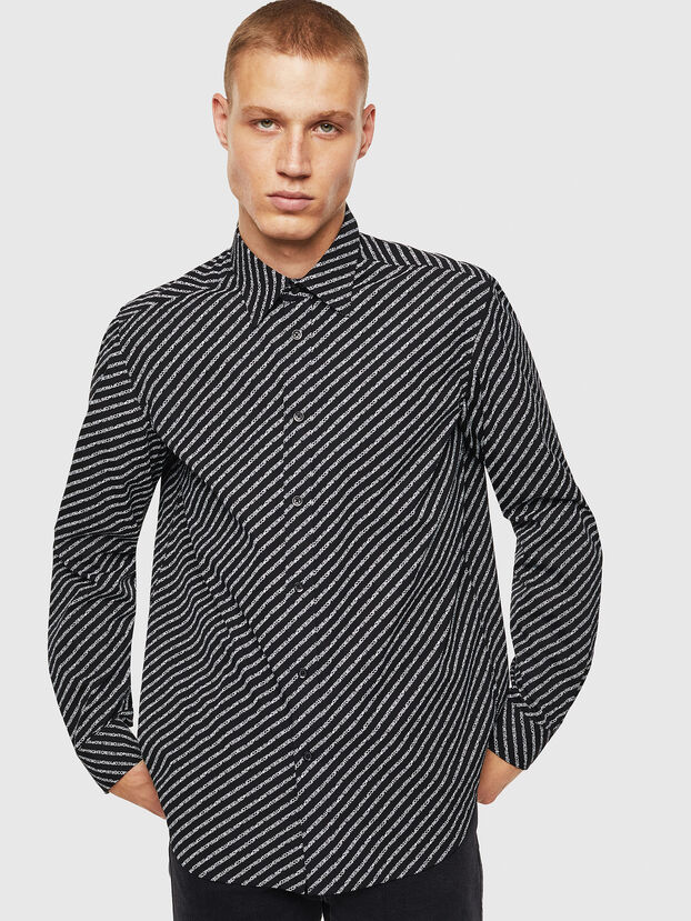 S-PENN-COPY, Noir - Chemises