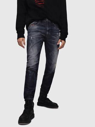 D-Strukt 089AL, Bleu Foncé - Jeans