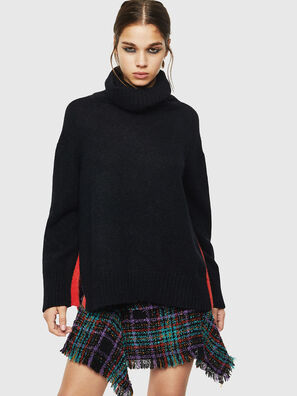 M-PERSIA, Noir - Pull Maille