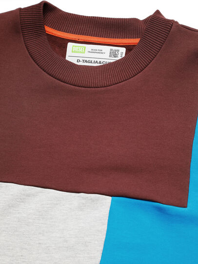 Diesel - D-TAGLIA&CUCI, Multicolore - Pull Cotton - Image 4