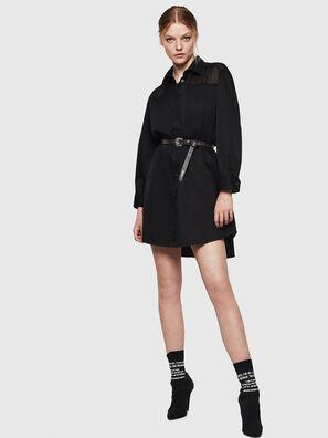 D-FLOWY, Noir - Robes