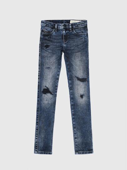 Diesel - SKINZEE-LOW-J-N, Bleu Foncé - Jeans - Image 1