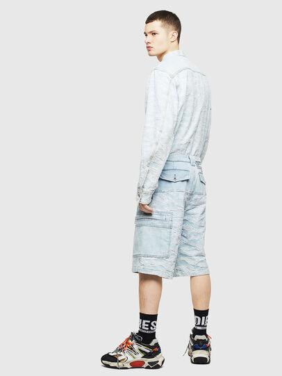 Diesel - D-LUK-SHORT, Bleu Clair - Shorts - Image 4