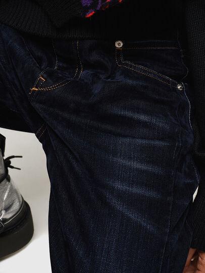Diesel - Fayza 0091U, Bleu Foncé - Jeans - Image 5