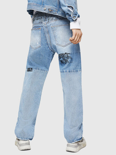 Diesel - D-Kodeck 0078F, Bleu Clair - Jeans - Image 2