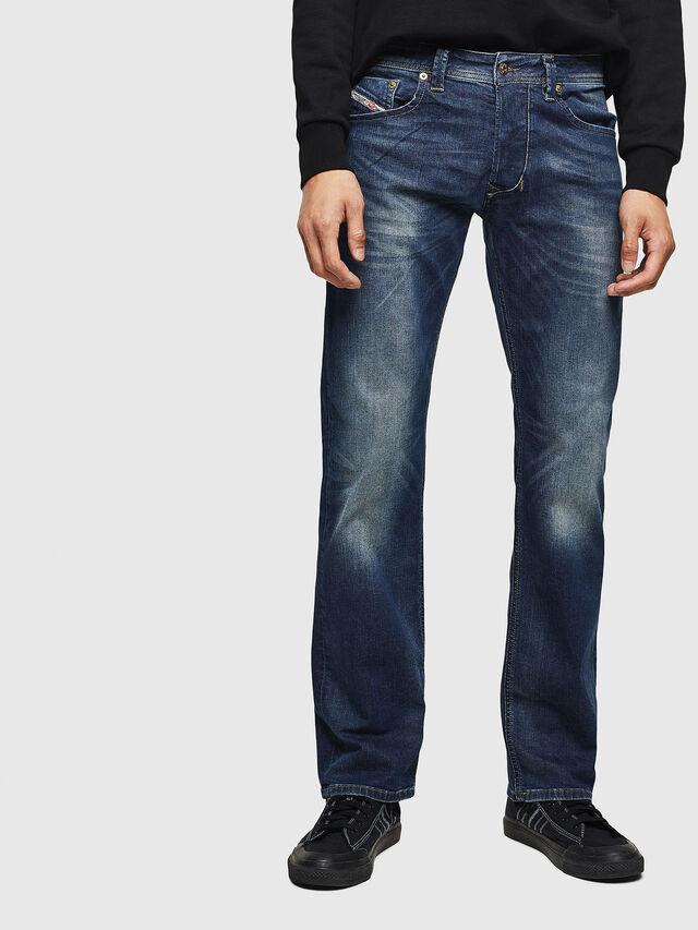 Diesel - Larkee 0853R, Bleu Foncé - Jeans - Image 1