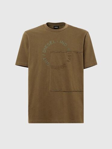T-shirt avec logoCopyright en patchwork
