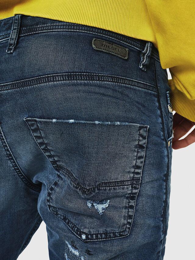 Diesel - Krooley JoggJeans 069HA, Bleu moyen - Jeans - Image 4