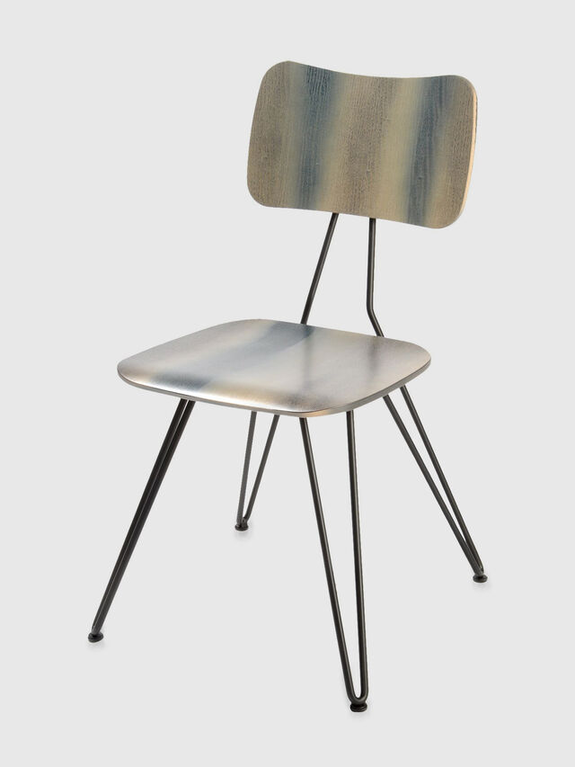 Diesel - DL0F01 OVERDYED, Gris - Chaises - Image 1